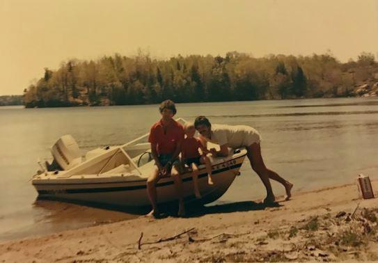 Bill Cavanagh at Christie Lake