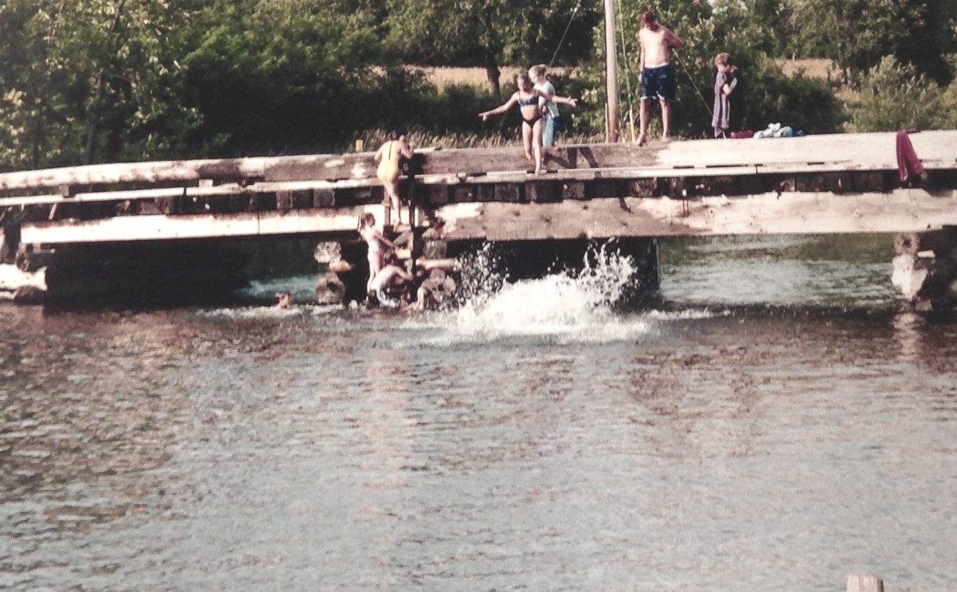 bridge at Jordan's