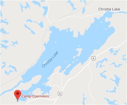 camp opemikon map