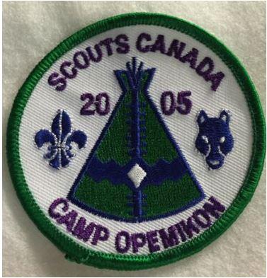 camp opemikon patch