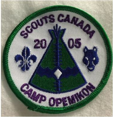 camp opemikon patch