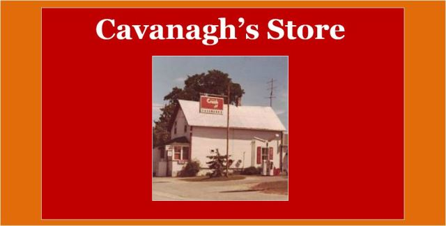 Cavanagh's store for Christie Lake story