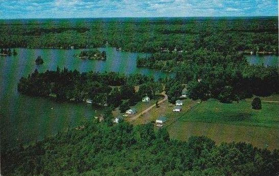 Christie Lake aerial view