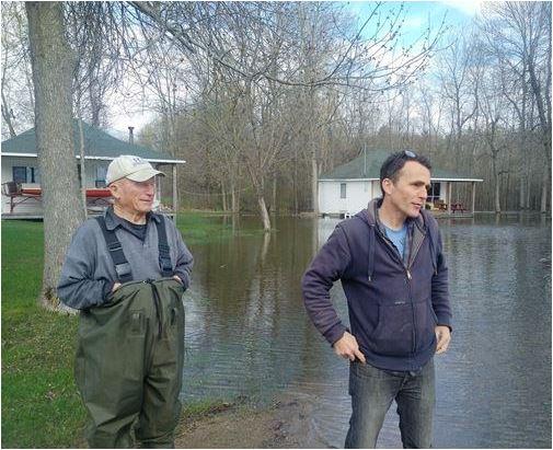 Christie Lake flood of 2017 part 2