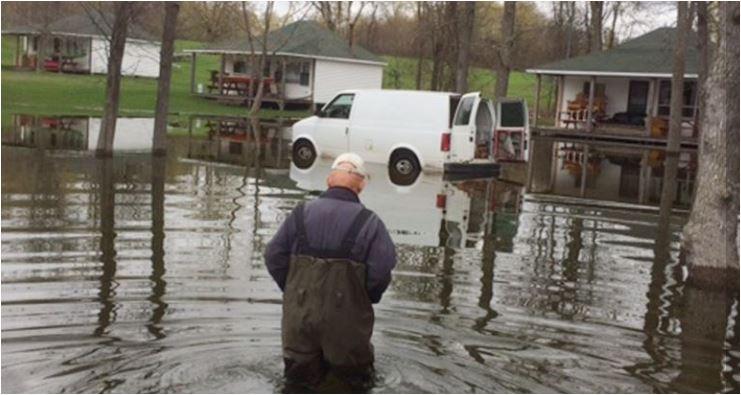 Christie Lake flood of 2017