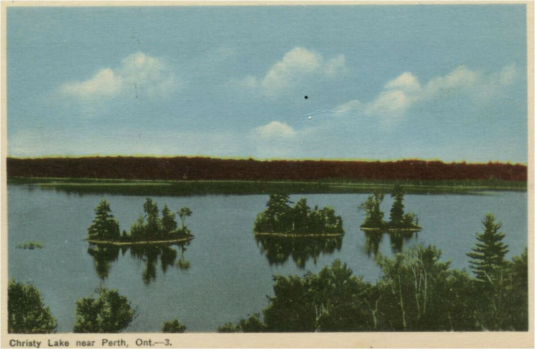 Christie Lake in colour