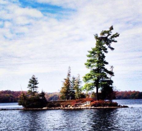 Christie Lake island