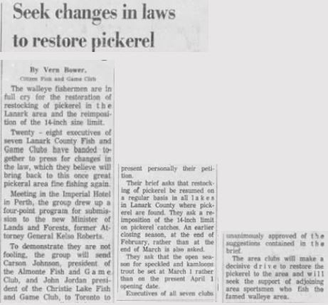 Christie Lake Ottawa Citizen Fishing Nov. 24 1962 p 12