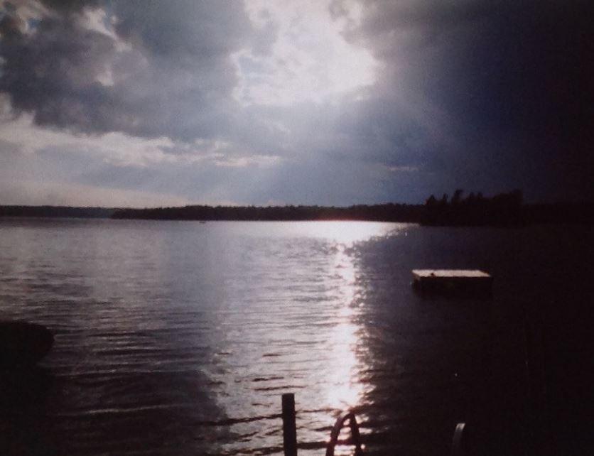 Christie Lake sundown Kathy Irvine