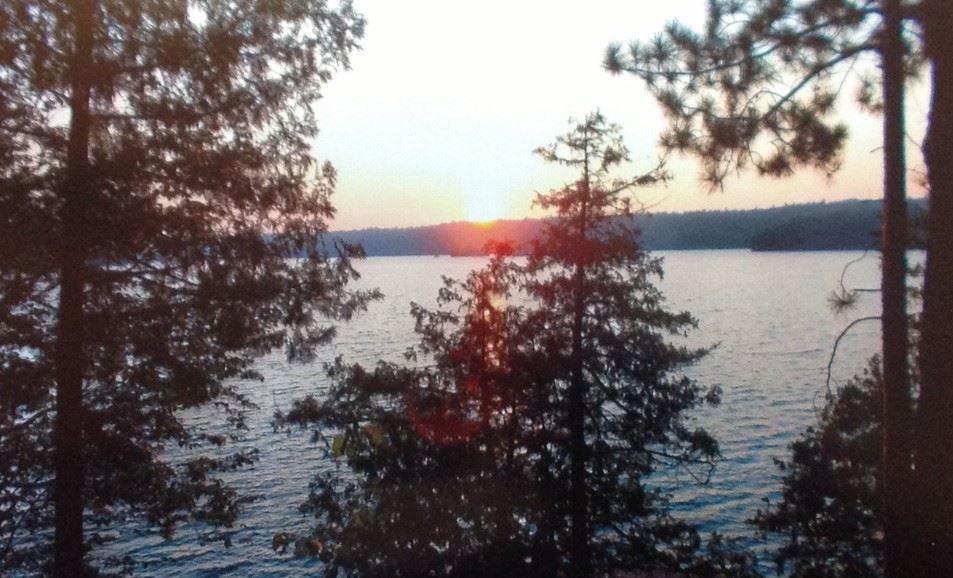 Christie Lake sunset - Kathy Irvine