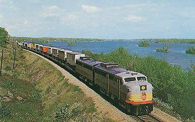 Christie Lake train 1959