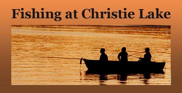 Fishing at Christie Lake banner