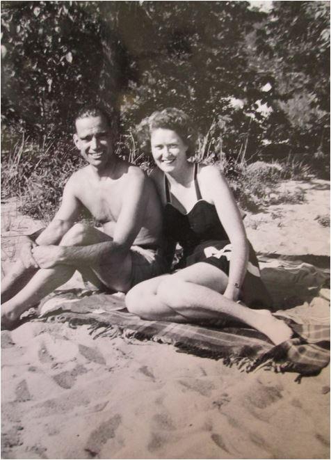 Harold and Irma Knight at Christie Lake