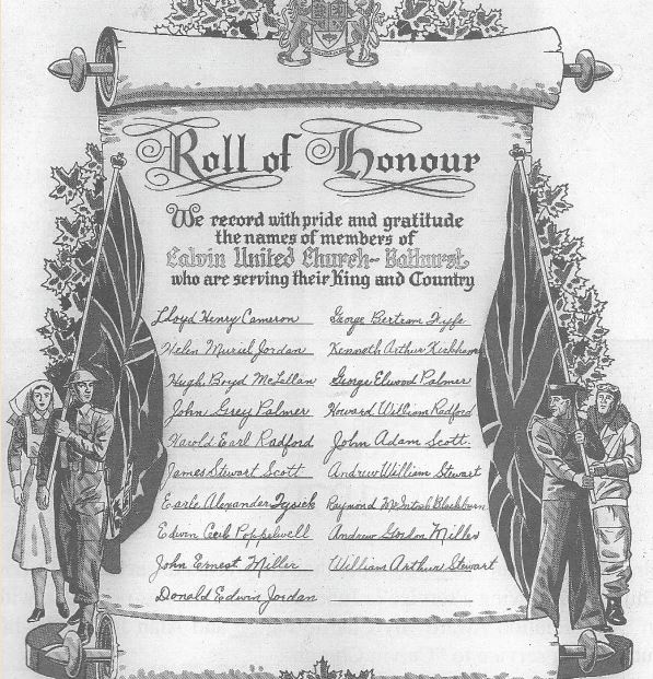 Helen Jordan roll of honour