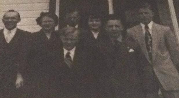 John and Mary Jordan and family