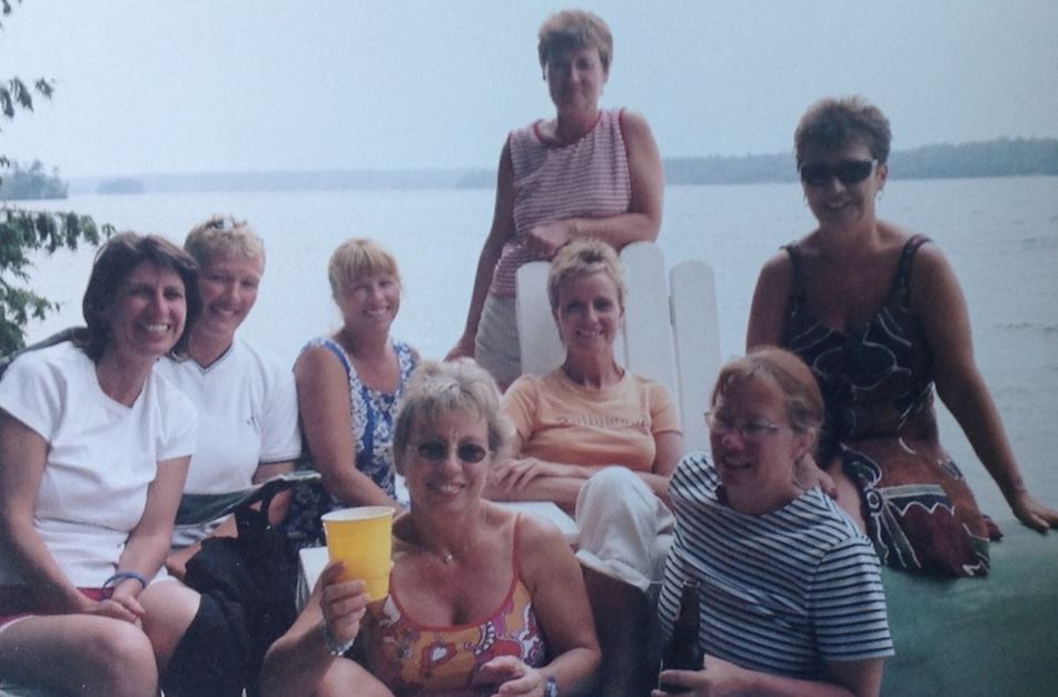 Jordan clan at Christie Lake from Kathy Irvine