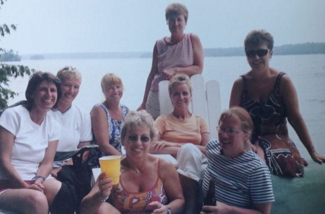 Jordan clan at Christie Lake from Kathy Irvine
