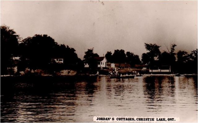 Jordan's Cottages 1956