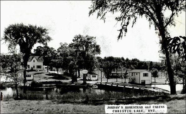 Jordan's Cottages 1971