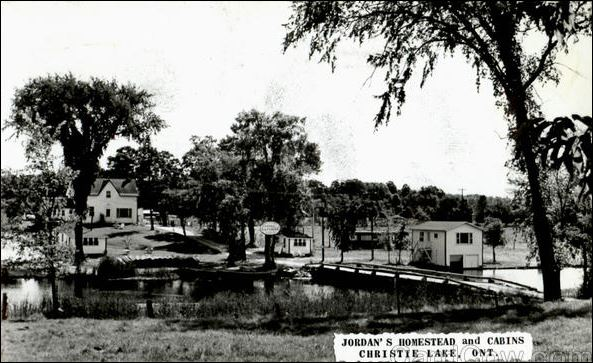 Jordan's Cottages 1971