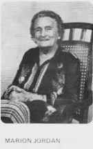 Marion Jordan