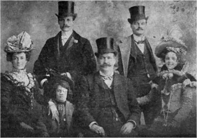 Marks family of Christie Lake