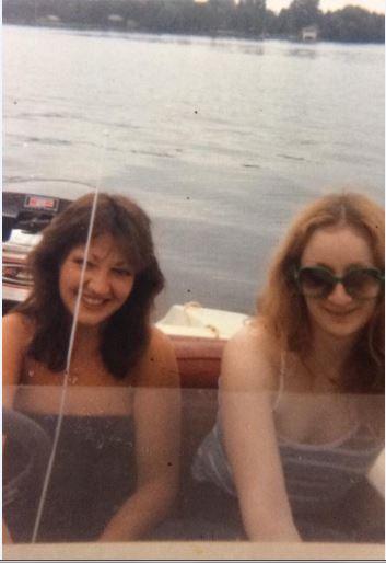 Patti Jordan and Arlene Stafford-Wilson at Christie Lake