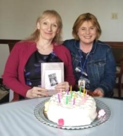 work party # 4 Arlene and Carol-Ann