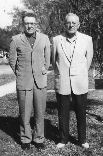 Don and Fred Rutherford
