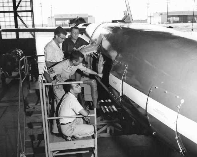 Don Rutherford Patrick Air Force Base 1956
