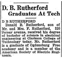 Don's grad announcement 1930