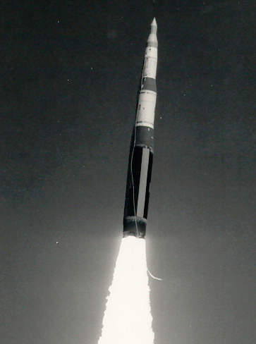Minuteman missle test launch
