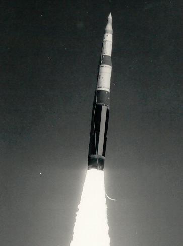 Minuteman missle test launch