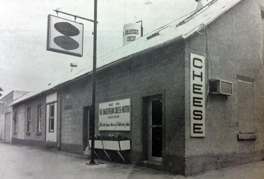 Balderson Cheese factory 1954
