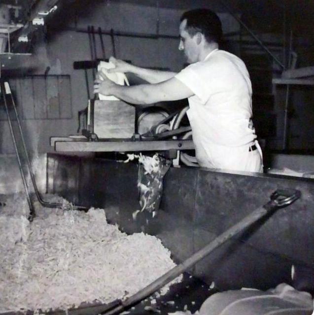 Balderson Cheese factory cheese-maker