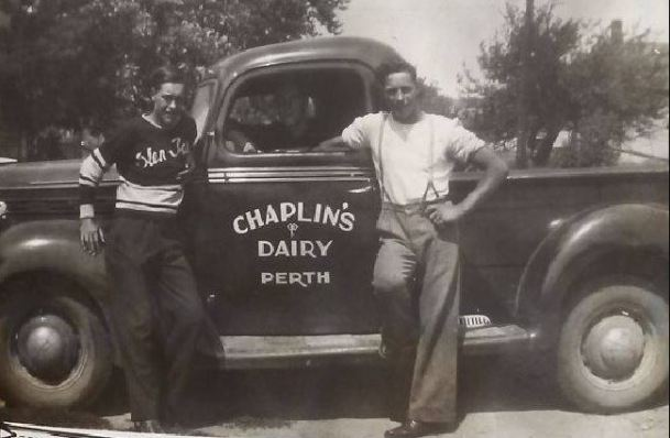 Chaplin's truck
