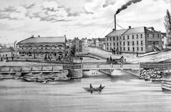 Caldwell mills Lanark Ontario