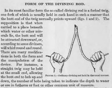 divining rod from book
