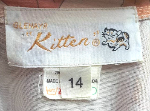 Kitten label