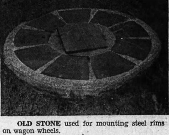Walter stone wheel 1971
