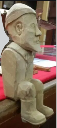 Walter's carving
