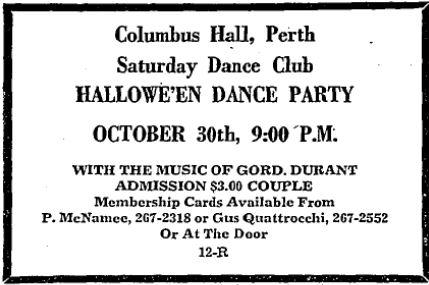 dance halloween