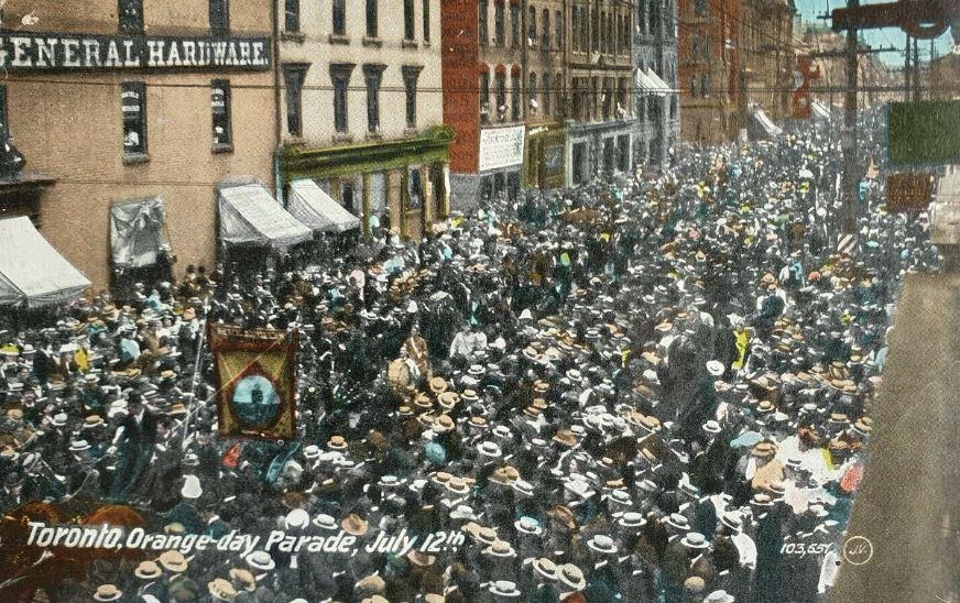 Orange Day parade Toronto 1911