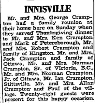 Crampton family