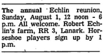 Echlin family