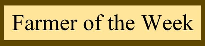 Farmer of the week banner