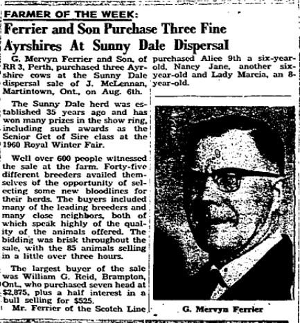 Ferrier, Mervyn 1962