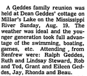Geddes family