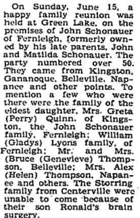 Schonauer family