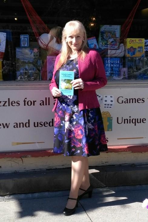 Arlene in front of Book Nook Sept 12 2020